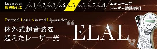 """体外式超音波を超えたレーザー光""""ELAL"""""""