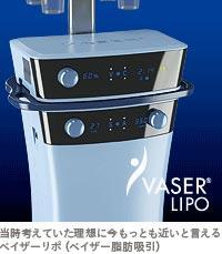 ベイザー脂肪吸引:理想の脂肪吸引機器に最も近いと言えるベイザーリポ