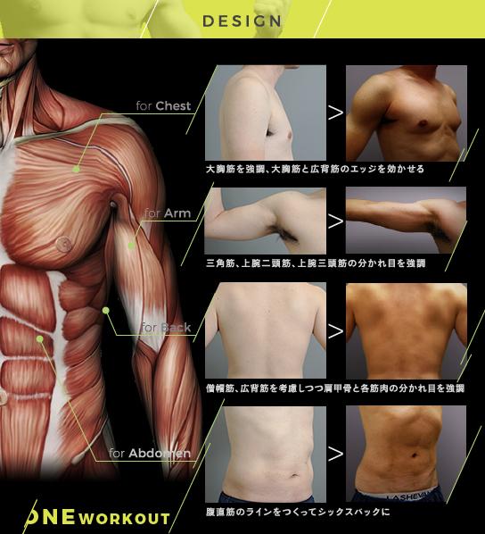 筋肉を強調する至高の脂肪吸引、そのこだわりとは?